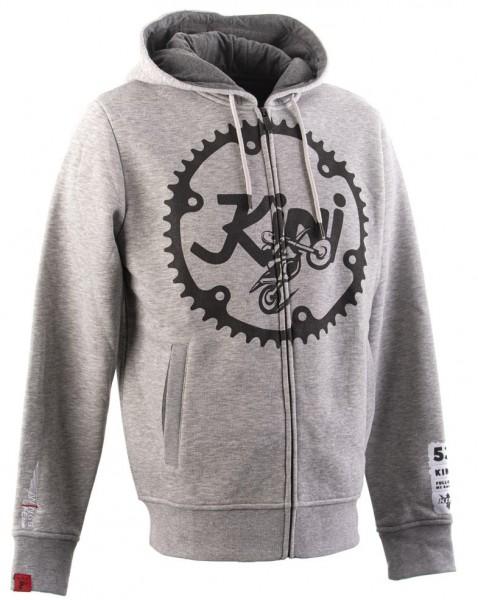 KINI Red Bull Ritzel Zip Hoodie - Light Grey