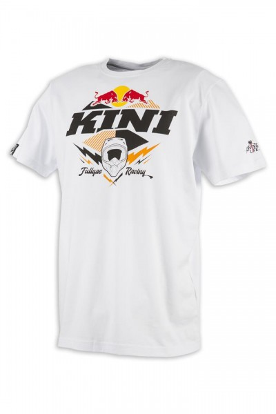 KINI Red Bull Armor Tee White