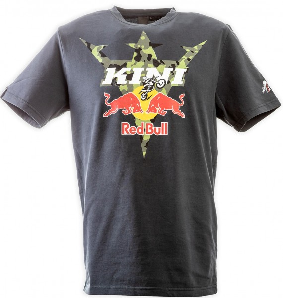 KINI Red Bull Camouflage Tee Anthrazit