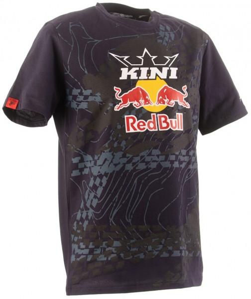 KINI Red Bull Topography Tee - Night Sky