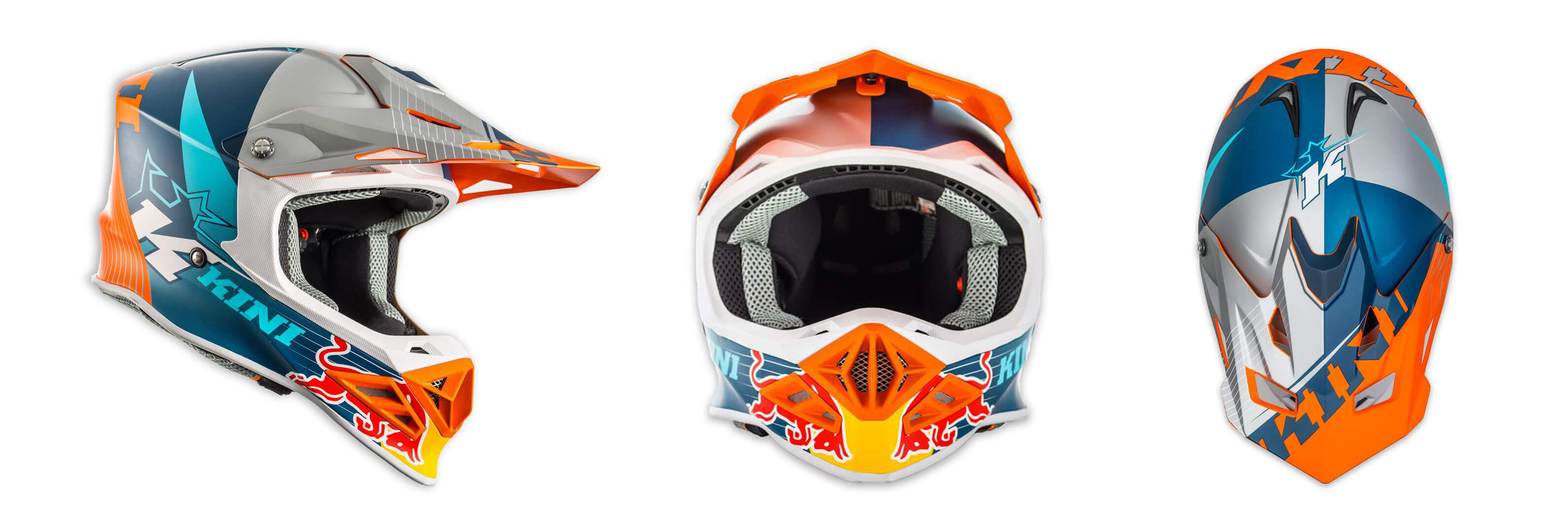 Supermoto Helm - Kini Red Bull Competition Helm
