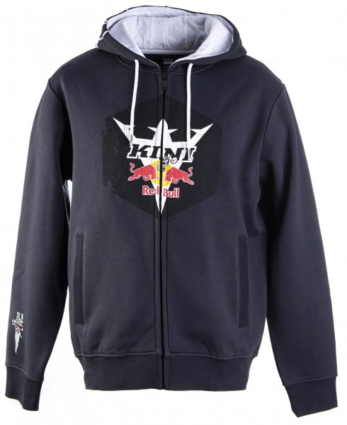 Kini Red Bull Hex Hoodie Anthrazit