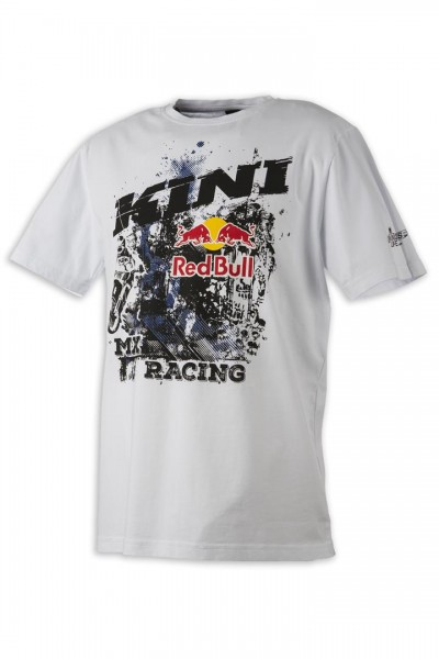 KINI Red Bull Underworld Tee White