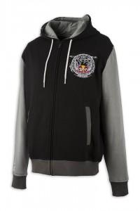 KINI Red Bull Crest Hoodie Black/Grey
