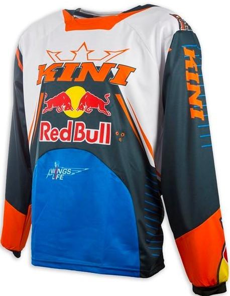 KINI Red Bull Competition Shirt Navy/Orange