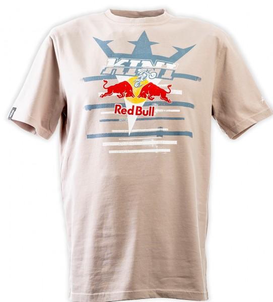 KINI Red Bull Steps Tee Grey