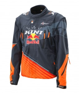 KINI Red Bull Competition Jacke V2.0 Orange/White/Grey