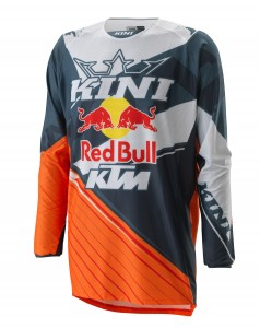 KINI Red Bull Competition Jersey V2.0 Orange/White/Grey