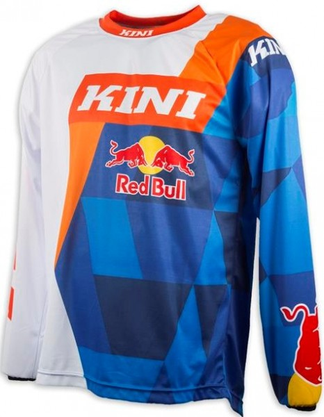 KINI Red Bull Vintage Shirt Orange/Blue