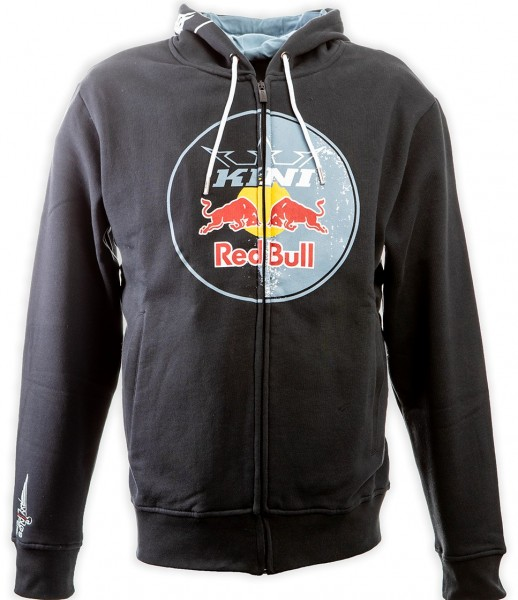 KINI Red Bull Circle Hoodie Anthrazit