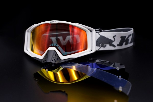 KINI Red Bull Competition Goggles White V2.1