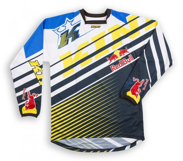 KINI Red Bull Vintage Shirt Yellow/Blue