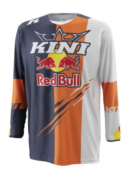 KINI Red Bull Competition Jersey V2.1 - Orange/White/Anthrazite
