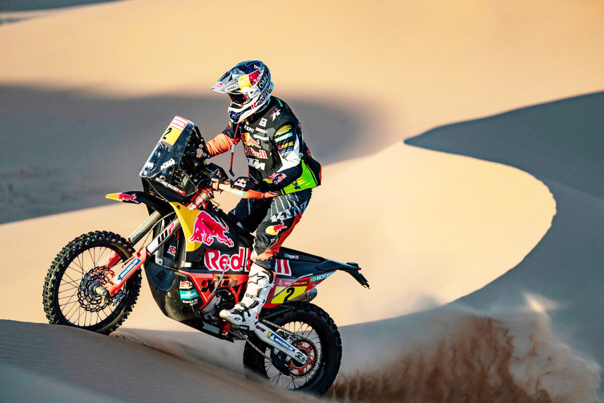 Matthias Walkner Rallye Dakar KTM Kini Red Bull