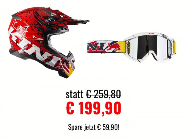Kini Red Bull Revolution Helm Set