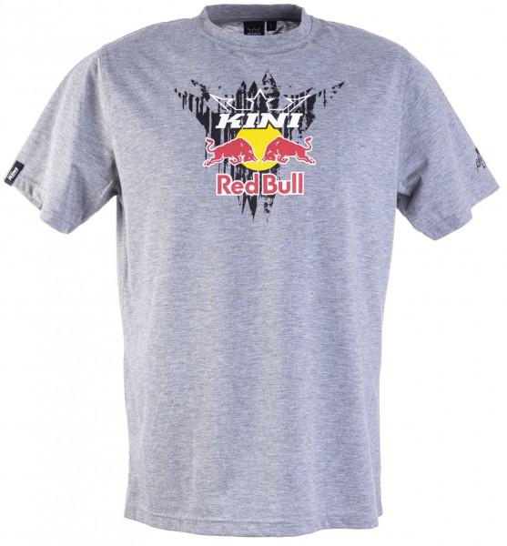 Kini Red Bull Corrugated Tee Grey