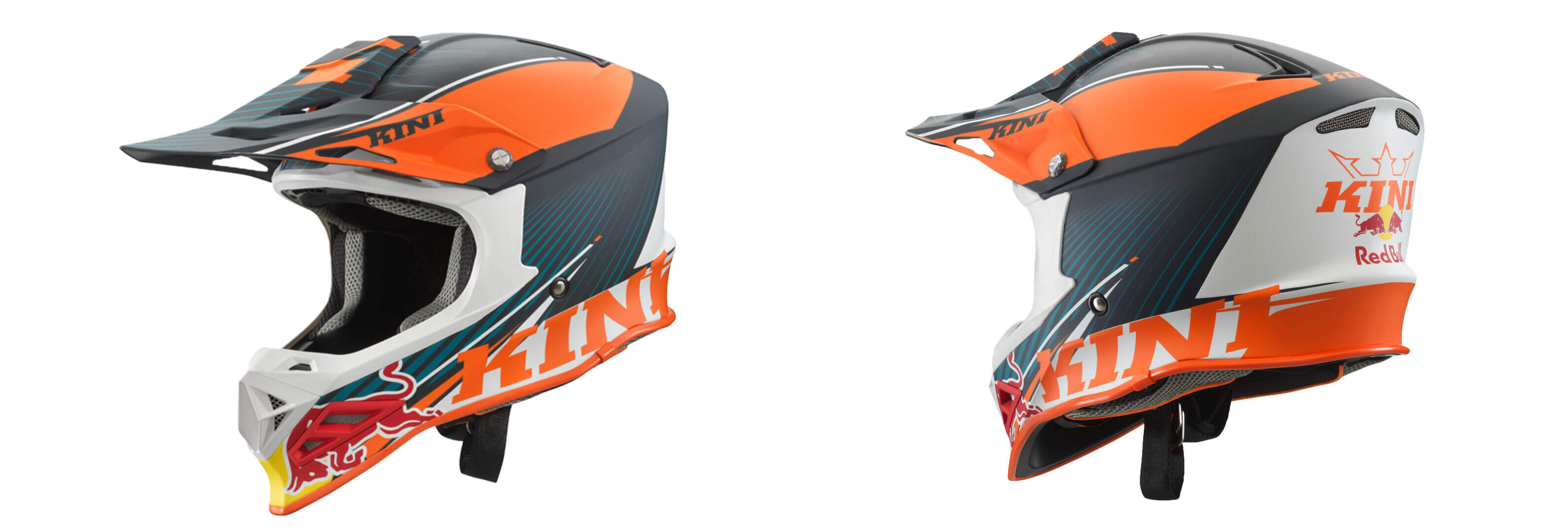 Motocross Helm & Enduro Helm & Crosshelm von Kini Red Bull 2020