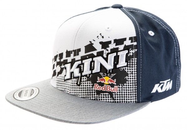 KINI Red Bull Slanted Cap - Grey/White/Navy