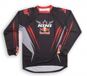 KINI Red Bull Competition Shirt Black Vented