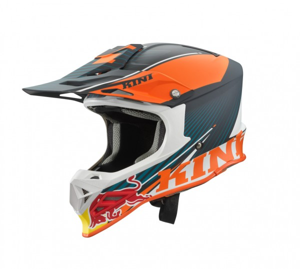 KINI Red Bull Competition Helm V2.0 Orange/White/Grey